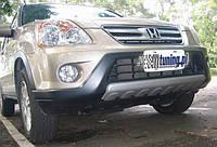 Юбка губа накладка на передний бампер Honda CR-V