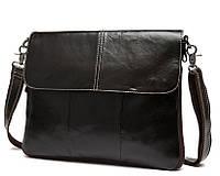 Мужская сумка через плечо Bexhill BX8007C Темнокоричневая, КОД: 186777