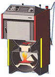 Твердотопливный пиролизный котел с газификацией каменного угля Atmos AC 35S, фото 4