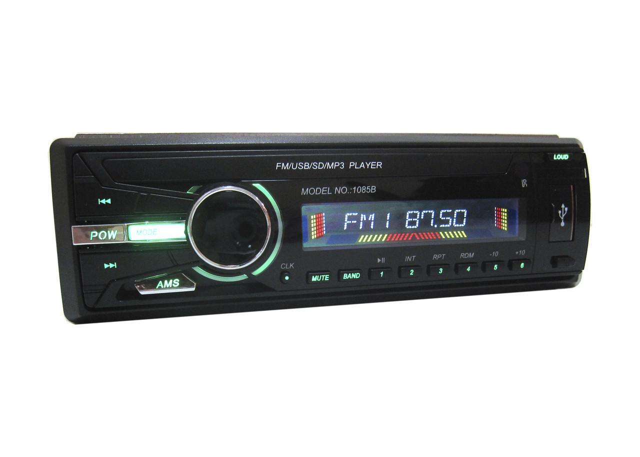 Автомагнитола 1085B ISO USB MP3 магнитола