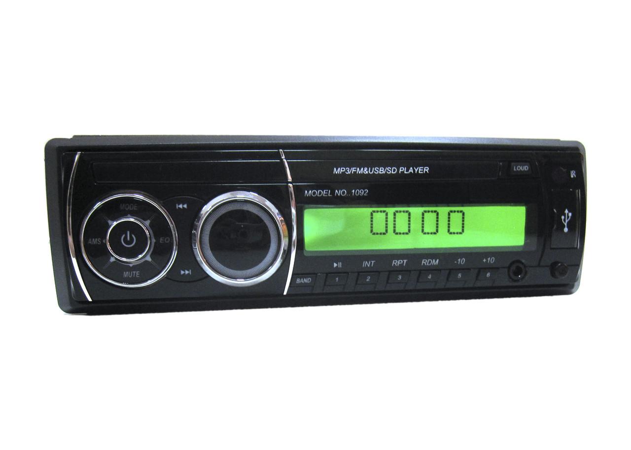 Автомагнитола 1092 ISO USB MP3 магнитола