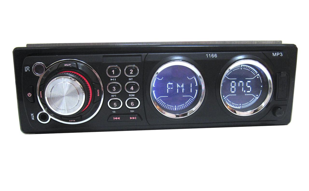 Автомагнитола 1166 ISO USB MP3 магнитола