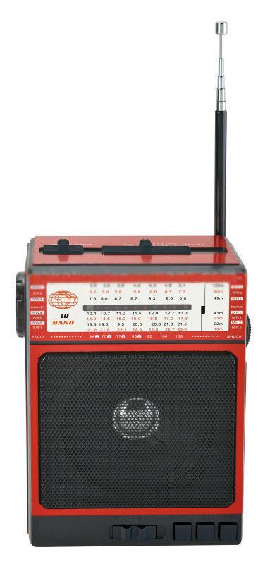 Радиоприемник колонка MP3 Golon RX-077 Red
