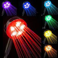 Светодиодная лейка на душ 7 цветов КЛАССИКА, фото 1
