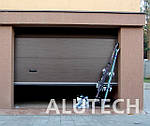 Гаражные секционные ворота Алютех по низким ценам