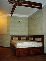 Кровать дубовая (Наше производство) Гарантия 10 лет