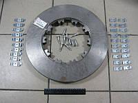 Диск тормозной с креплением DAF CF65/75/85,XF95 (RIDER)