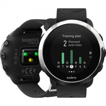 Розумні годинник Smart Watch Suunto 3 fitness Black/Silver