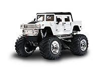 Джип микро р/у 1:43 Hummer (белый), фото 1