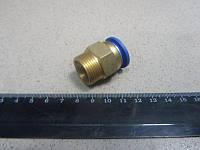 Соединитель аварийный метал. ( наружн. резьба ) M22*1.5 d-15 трубки ПВХ