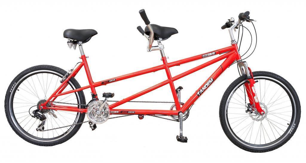 Велосипед ТАНДЕМ 26 двойной