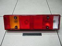 Фонарь задн. LH MAN 7 секц c подсветкой номера (фишка)(TRUCKLIGHT), фото 1