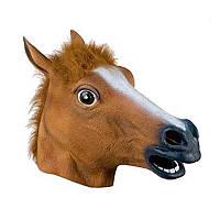Маска-голова коричневый Конь КМ 64.02