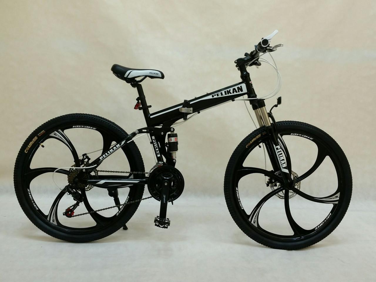 Велосипед складной MTB 26 SHIMANO литые ДИСКИ