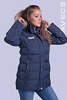 Куртка женская зимняя Avecs 70310 темно-синий 46 (L)