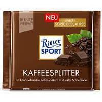 Шоколад Ritter Sport  Kaffeesplitter 50% какаоГермания 100г