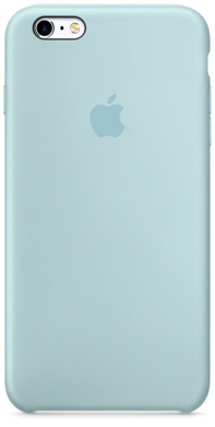 Чохол для iPhone 6+ / 6s+ Silicone Case OEM ( Turquoise )