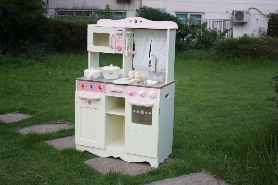 Деревянная детская Кухня ВИНТАЖ