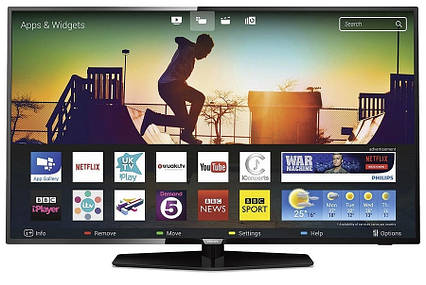 Телевизор Philips 43PUS6162/12 (PPI 700Гц, 4K UltraHD, Smart, Pixel Plus Ultra HD, Micro Dimming, DVB-С/T2/S2), фото 2