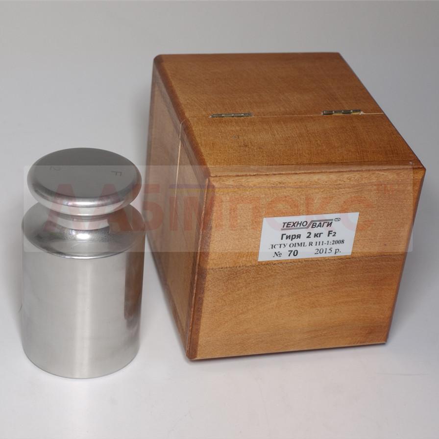 Гиря калибровочная (Класс 2, 100 г- 2кг)