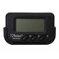 Часы автомобильные Kenko KK-613D, будильник, таймер, фото 1