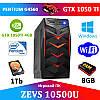 Игровой Монстр ПК ZEVS PC10500U G4560 + GTX 1050TI +8GB DDR4 +ИГРЫ