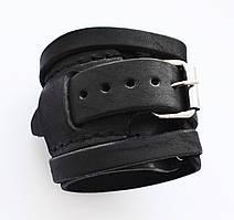 Напульсник кожаный на руку (спортивный фиксатор для запястья, кисти) Onhillsport Standart OS-0322-3