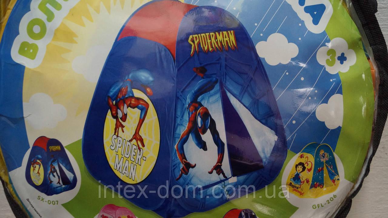 Палатка детская Человек паук SX-007