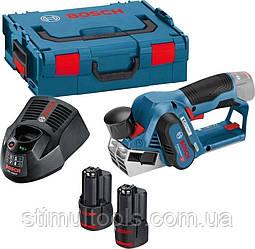 Акумуляторний рубанок Bosch GHO 12V-20, L-BOXX