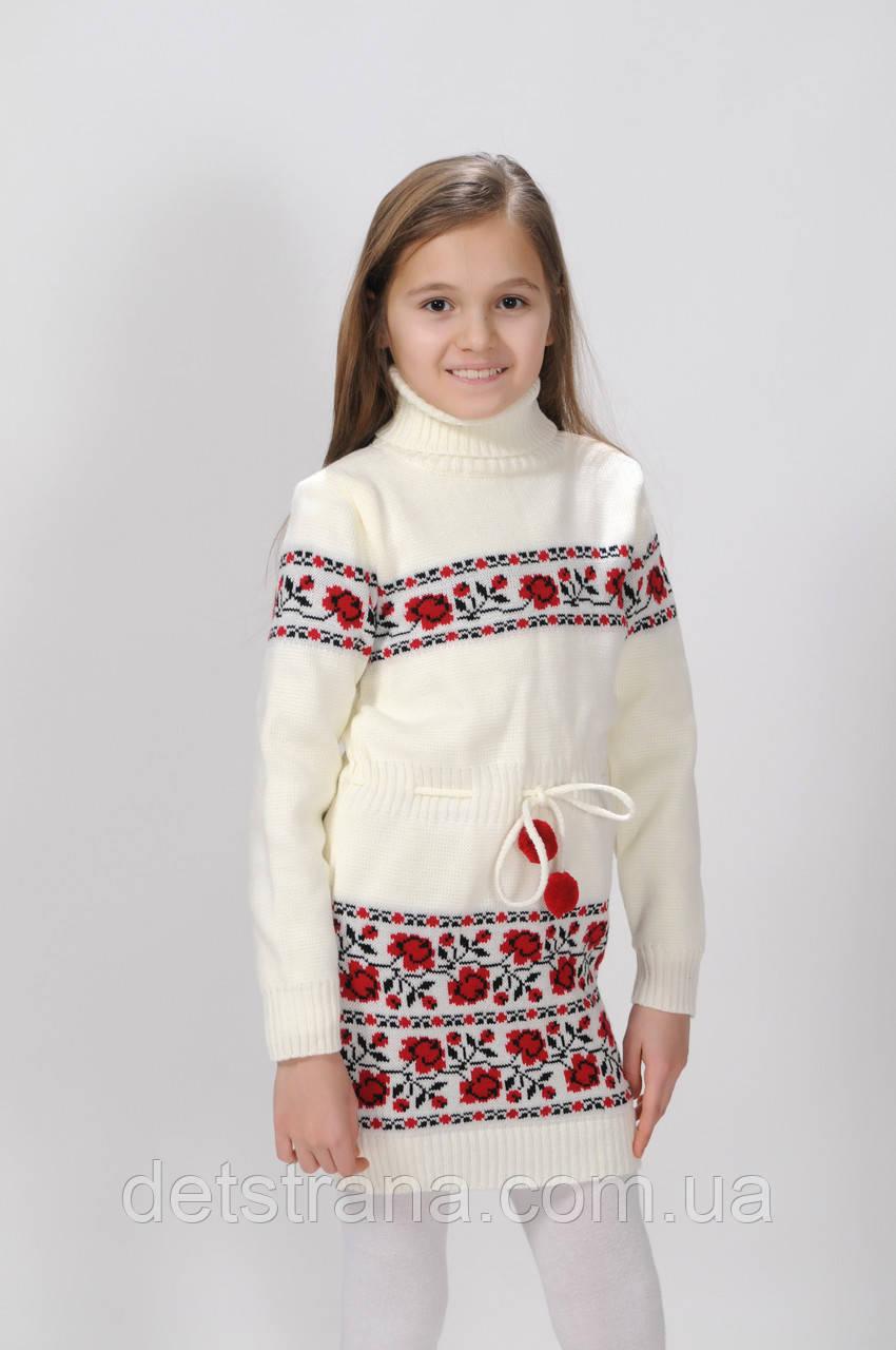детская вязаная туника для девочки цена 175 грн купить в харькове