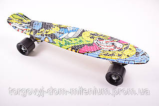 Скейт (колёса PU) 57/15см. SC170421