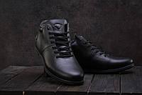 Ботинки мужские Milord Olimp черные (натуральная кожа, зима)