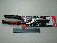 Ножницы по металлу удлененные 300мм прямые Cr-Mo (Intertool)