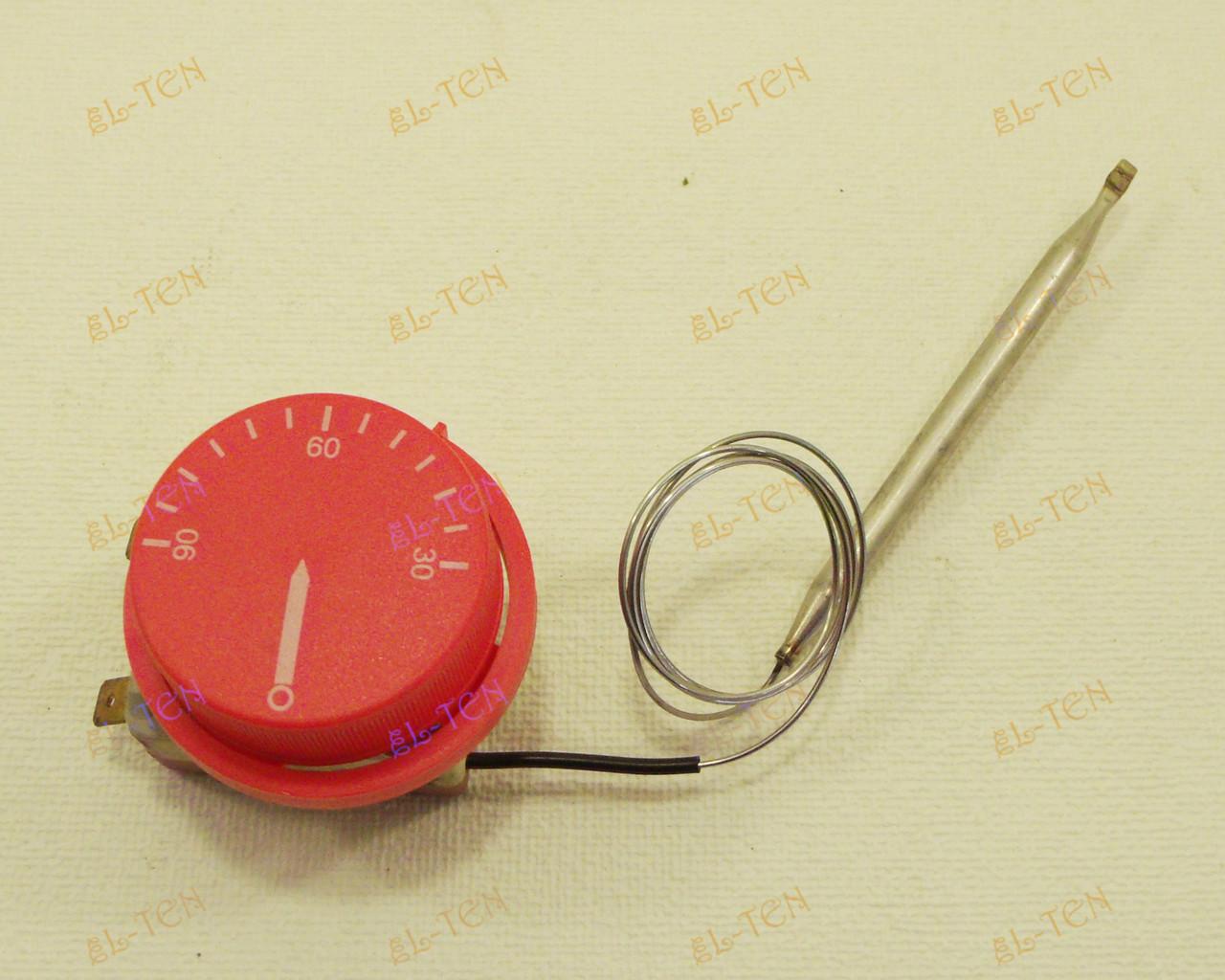 Терморегулятор механический от 30 до 90*С (16 А / 250 В) на 2 контакта. (Для бойлеров, котлов и др.)
