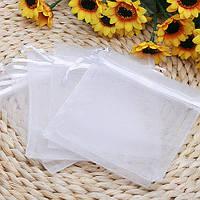 100шт белый органзы мешок ювелирных изделий венчания мешка подарка 9x11cm 1TopShop