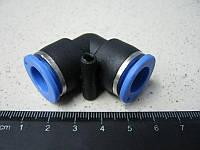 BH. Фитинг воздушный -пластик,угл.11 мм