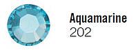 Стразы Nila SS3 (1,4 -1,50мм) 2028 Aquamarine (202) 100 шт