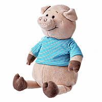Свинка в голубой тельняшке, 35 см, «Same Toy» (THT715), фото 1