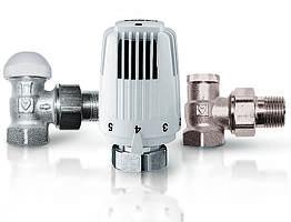 Термостатический комплект HERZ Classic TS-90 угловой V772401