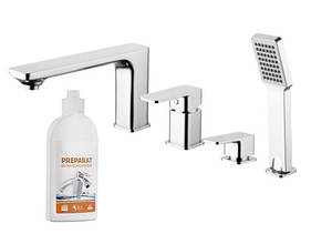 Змішувач для ванни OMNIRES APURE AP2232
