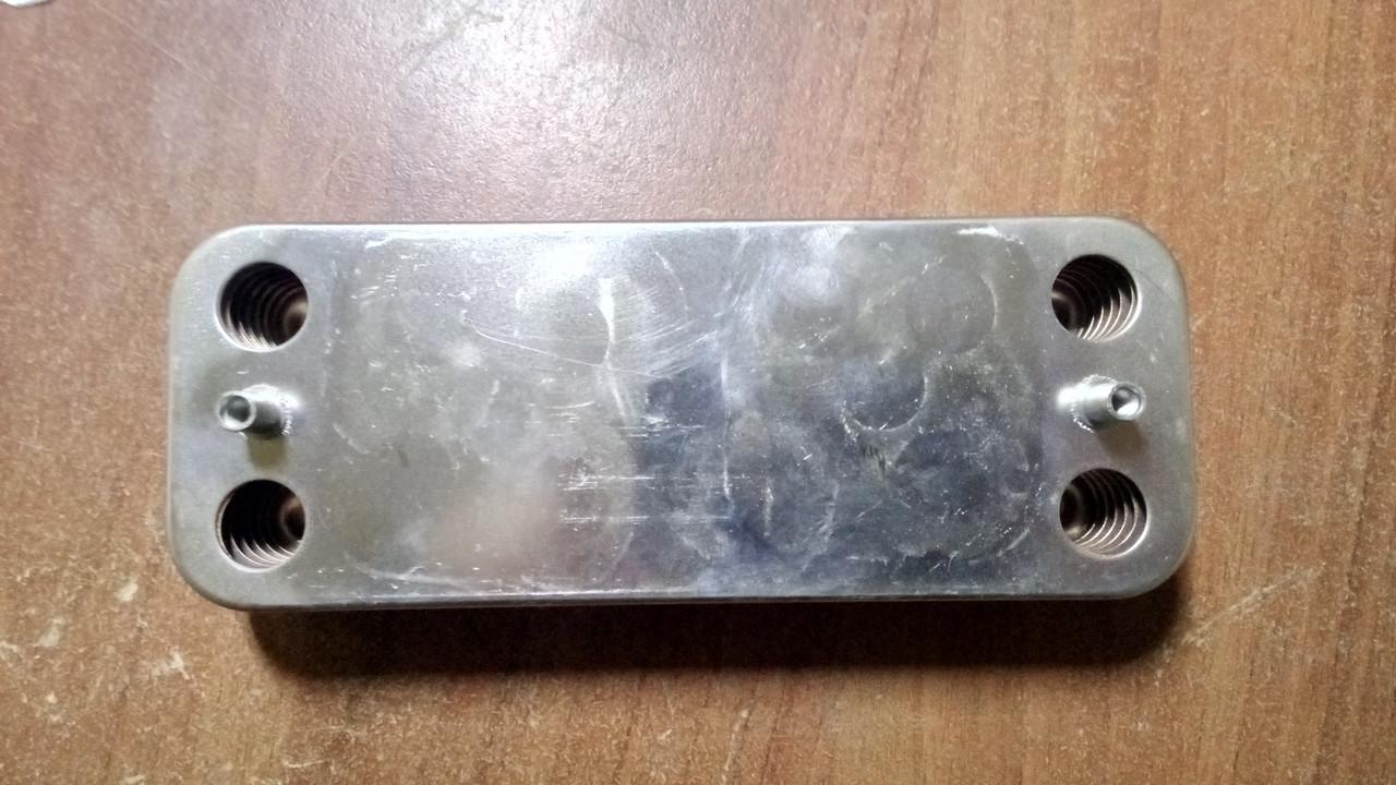 Теплообменник вторичный  VIESSMANN VITOPEND 100 WH1D 12 пластин.