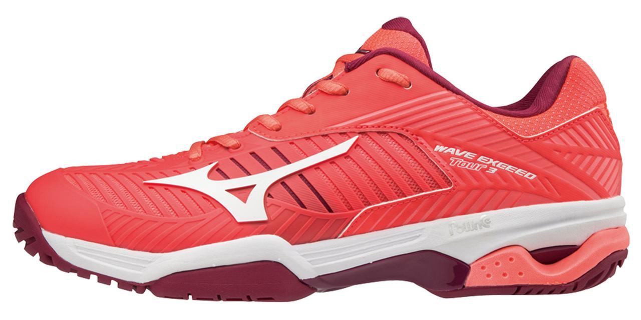 Женская обувь для тенниса Mizuno Wave Exceed Tour 3 Ac (Women) 61GA1871-01