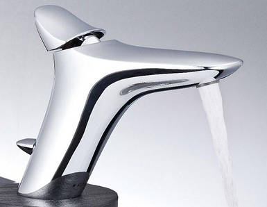 Змішувач для умивальника Kludi Ambienta з донним клапаном
