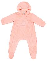 Комбинезон для новорожденного ТМ СМИЛ арт. 122001, возраст от 0 до 6 месяцев