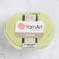 Хлопковая пряжа YarnArt Jeans 11 фисташка (ЯрнАрт Джинс)