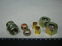 Соединитель  трубки ПВХ прямой резьбовой (Dвнут.=15мм, М22х1,5) (RIDER)