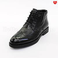 Мужские зимние ботинки деловые, фото 1