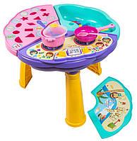 Многофункциональный игровой столик 42*48см, в кор. 59*35*20см, TM Wader (39380)