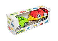 """Набор авто """"Kid cars Sport"""" 3шт.(кабриолет+гонка)  Тигрес //(39542)"""