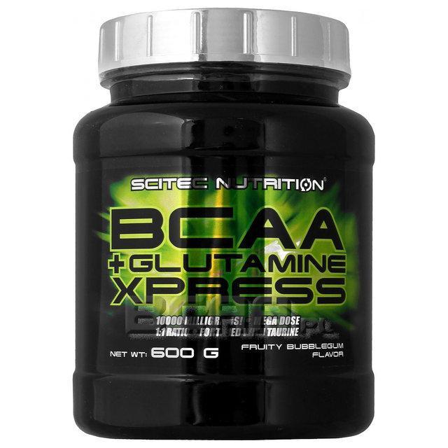 SN BCAA+Glutamine Xpress 600 г - bubble gum